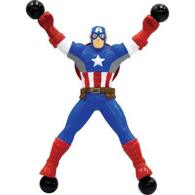 100126686-Boneco-Pegajoso---Marvel---Stick-Heroes---Capitao-America---Candide