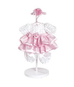 Roupa-para-Bonecas---Adora-Doll---Vestido-Branco-e-Rosa-Sweet-Sunday---Shiny-Toys