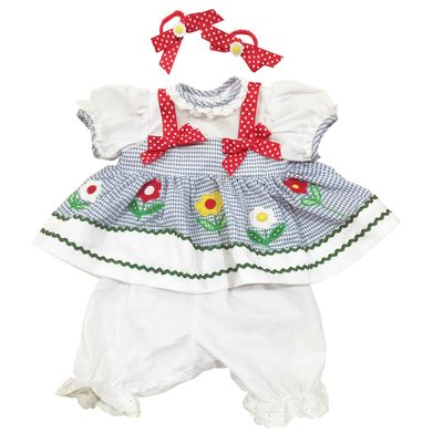 Roupa-para-Bonecas---Adora-Doll---Vestido-Azul-e-Branco-com-Flores---Shiny-Toys