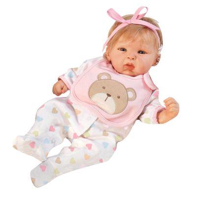 Boneca-Bebe-com-Acessorios---Reborn-Happy---Teddy---Shiny-Toys