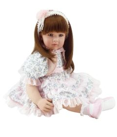 Boneca-Laura-Doll---Flower-Light---Shiny-Toys