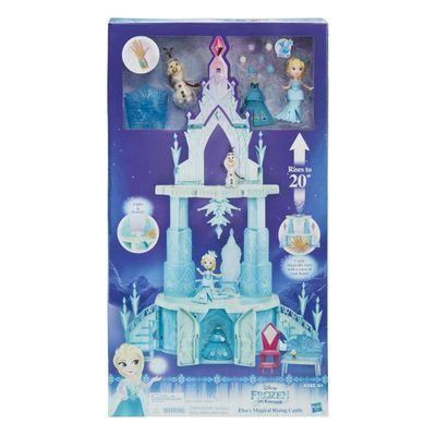 Playset Com Figuras Disney Frozen Castelo Da Elsa Hasbro