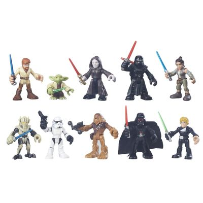 Playset-com-Figuras---Playskool-Galactic-Heroes---Disney-Star-Wars---Hasbro
