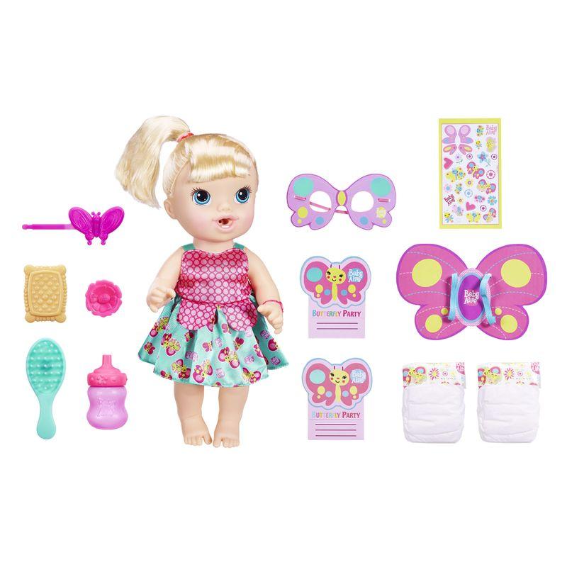 5c20c71c6 Boneca Baby Alive - Borboletinha - Loira - B8279 - Hasbro - Ri Happy  Brinquedos