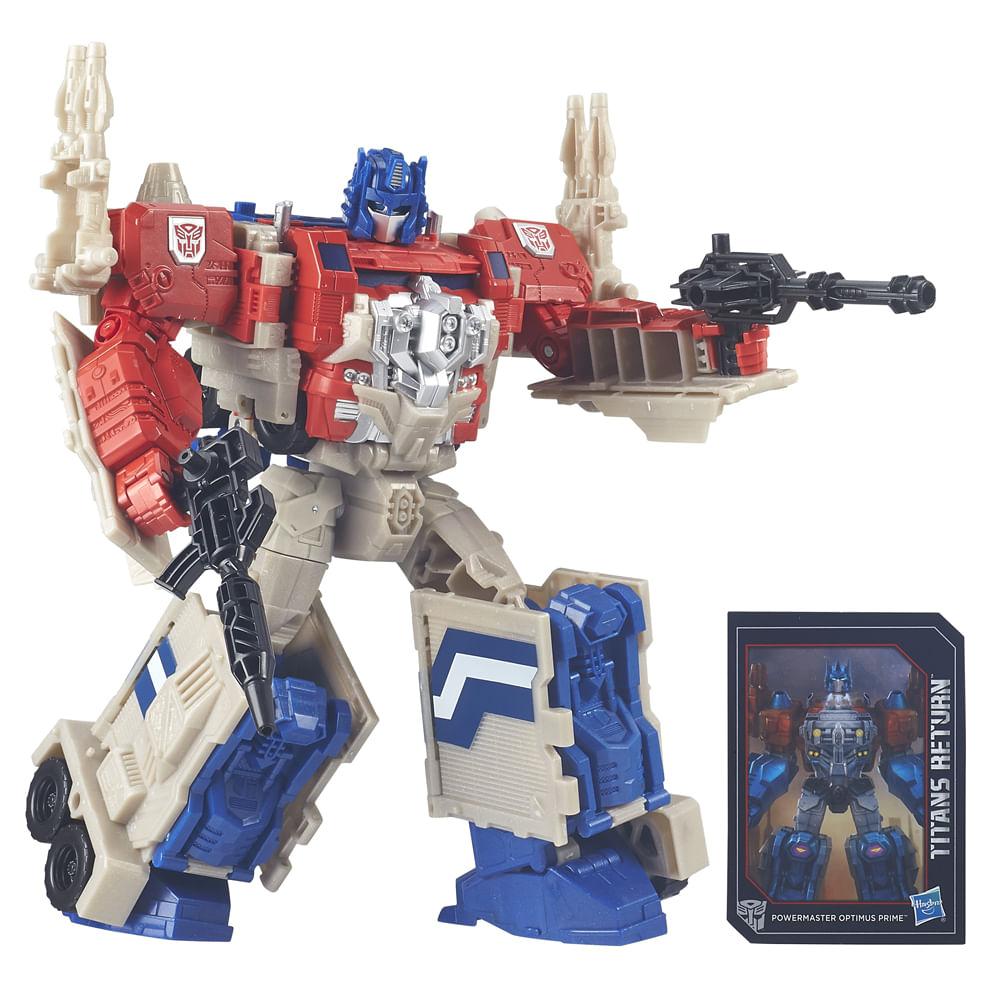 Boneco Transformers - Leader Titan - Optimus Prime - Hasbro