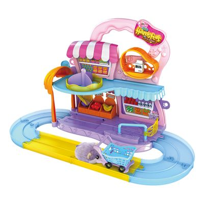 100124450-Playset-Hamster-com-Figura---Mercado---Hamsters-in-a-House---Candide