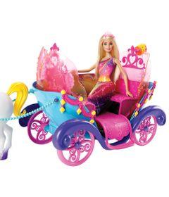 Carruagem-com-Boneca-Barbie---Princesa----Mattel