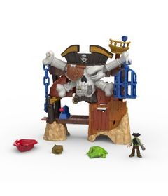 Playset Ilha do Barba Negra - Imaginext - Mattel