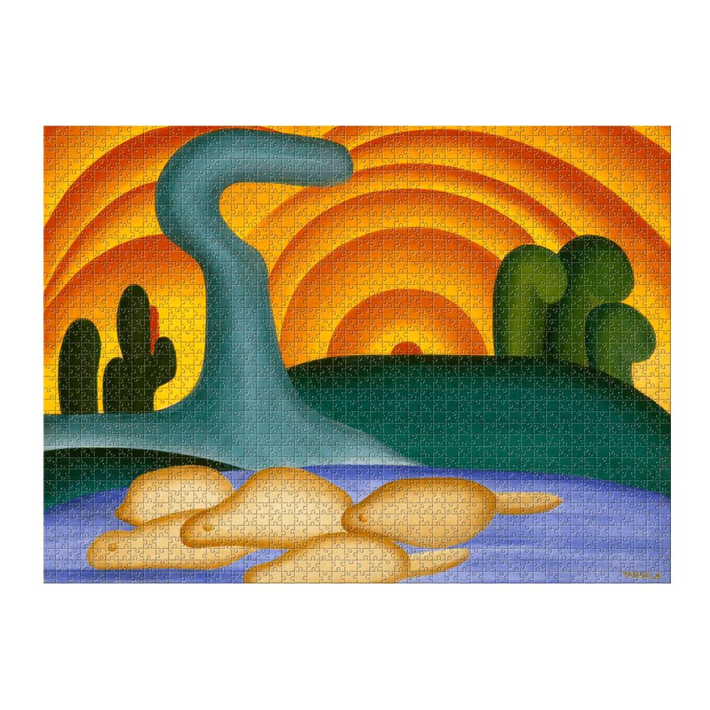 Quebra-cabeça - Tarsila do Amaral - 2000 Peças - Estrela