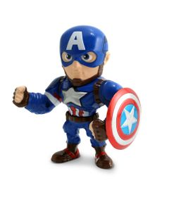 Figura-Colecionavel-10-Cm---Metals---Marvel---Civil-War---Capitao-America---DTC
