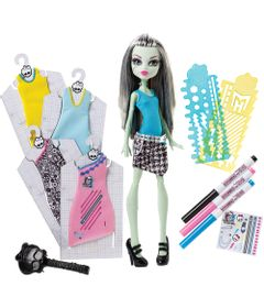 Boneca---Monster-High---Frank-Stein---Mattel