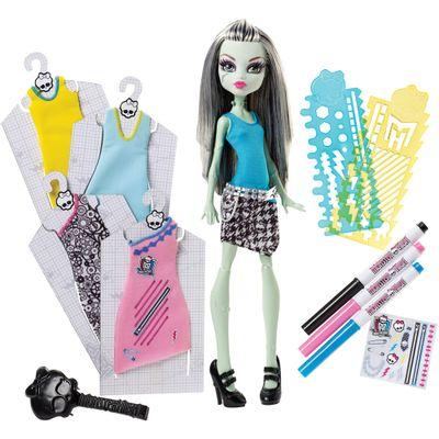Boneca---Monster-High---Frank-Stein---Mattel