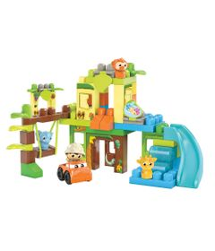 Mega-Bloks---Selva-Divertida---First-Builders---Mattel