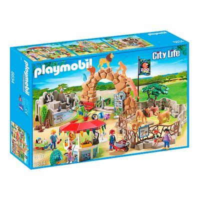 Playmobil---Playset-Grande-Zoologico---6634---Sunny