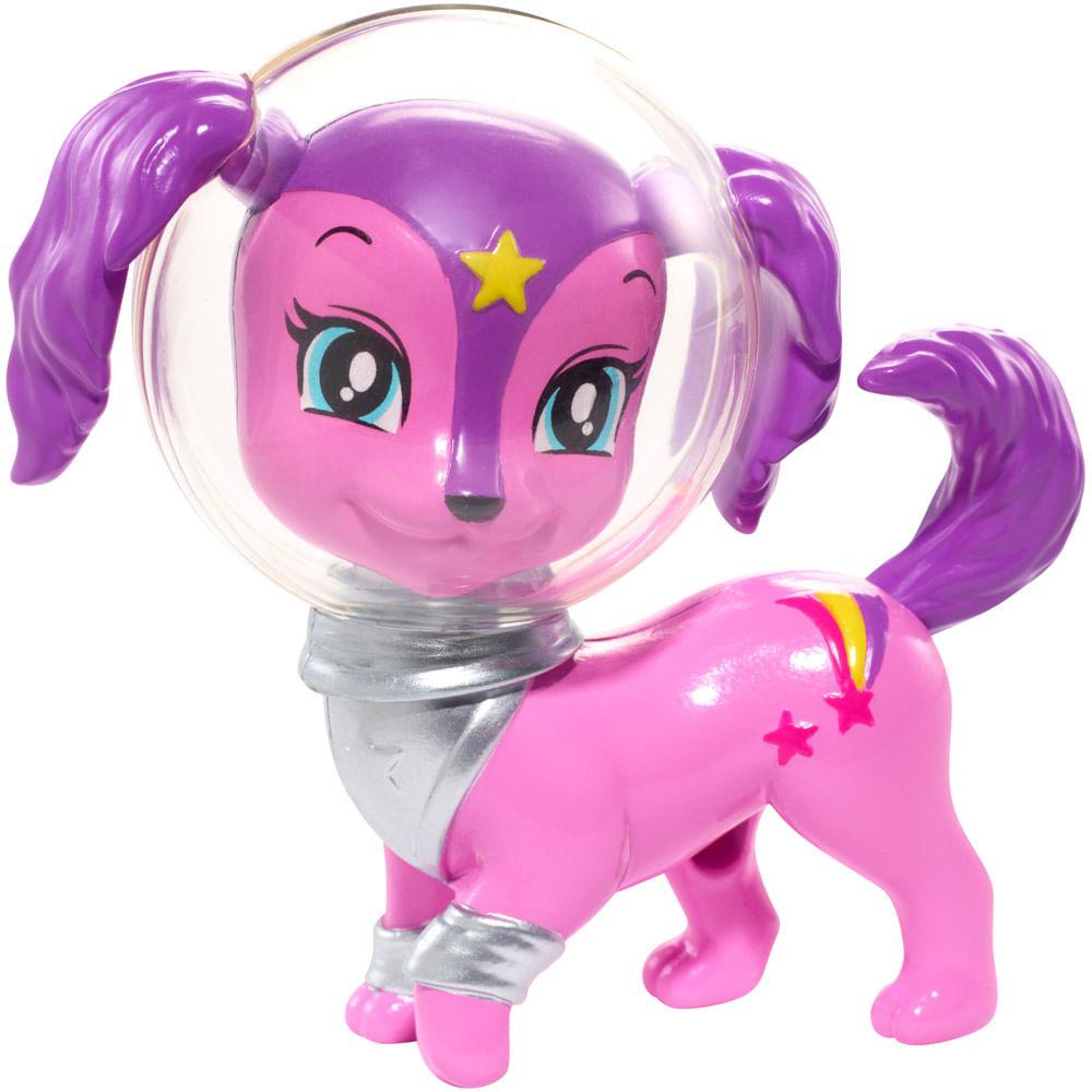 Figura Bichinho Galáctico - Cachorrinho - Aventura nas Estrelas - Barbie - Mattel