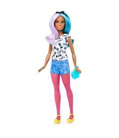 d6a3e43c1e Boneca Barbie Fashionista - 42 Blue Violet Doll - Petite - Mattel