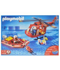 Playmobil---Equipe-de-Resgate-com-Helicoptero-e-Bote---4428---Sunny