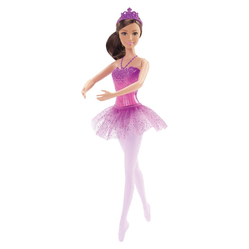 3c9228044a Boneca Barbie - Bailarina - Morena - Mattel - Ri Happy Brinquedos