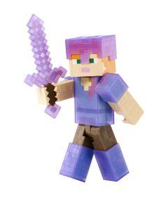 Figura-Minecrat---Alex-com-Armadura-Roxa---Mattel