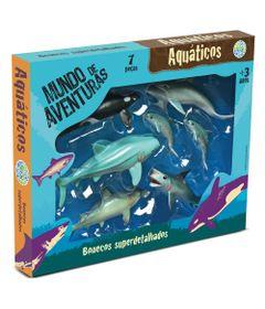 Conjunto-de-Figuras-Mundo-de-Aventuras---6-pecas---Bicho-Mundi-Aquaticos---DTC