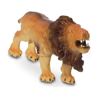 Figura-de-Animal---12-cm---Bicho-Mundi---Animais-da-Selva---Leao---DTC
