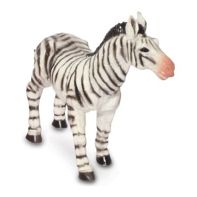 Figura-de-Animal---12-cm---Bicho-Mundi---Animais-da-Selva---Zebra---DTC
