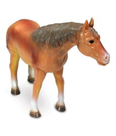 Figura-de-Cavalo---15-cm---Bicho-Mundi---Cavalos---Marrom---DTC