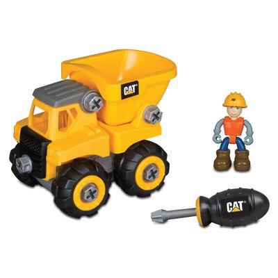Carrinho-Com-Ferramenta---Machine-Junior-Operator---Caminhao-Cacamba---DTC