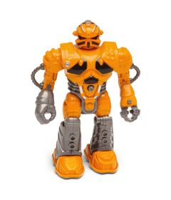 Boneco-Robo---13-cm---Tecno-XR-S---Laranja---DTC