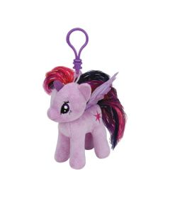 Pelucia-Com-Clip---11-cm---My-Little-Pony---Twilight-Sparkle---DTC