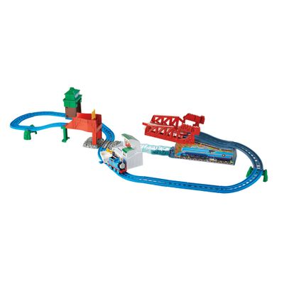 Playset---Pista-de-Percurso---Thomas---Friends---A-Grande-Corrida---Fisher-Price-DFL93-frente
