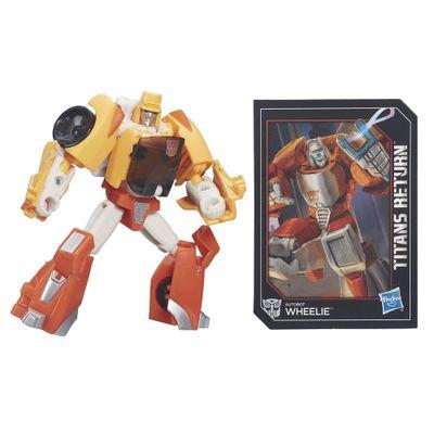 Boneco-Transformers---Legends-Titan-Return---Wheelie-Laranja---Hasbro