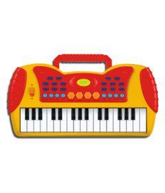 Mini-Teclado-Musical---Amarelo---DTC-1507-frente
