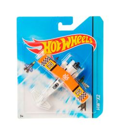 Aviao-Hot-Wheels---HW-X2-Laranja---Mattel