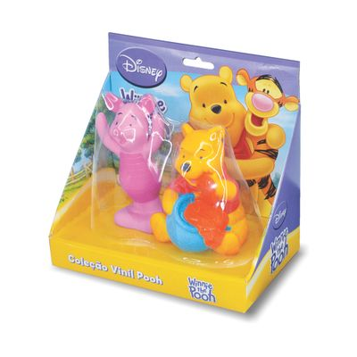 Conjunto-Bonecos-de-Vinil---Disney---Pooh---Leitao-e-Pooh---Lider