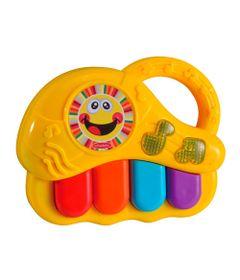 Bebe-Musical-VI---Instrumentos-Musicais---Teclado-Amarelo---Dican