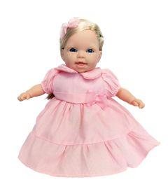 Boneca---Conversando-com-a-Mamae---Vestido-Rosa---Cotiplas