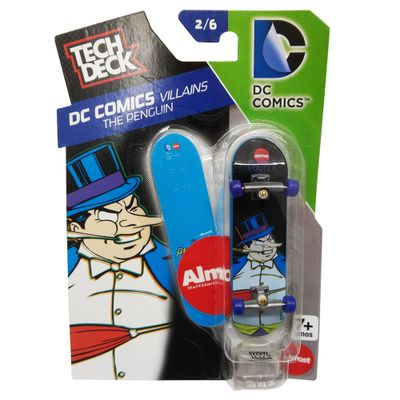 Skate-de-Dedo-Tech-Deck---DC-Comics---The-Penguin---2-6---Multikids
