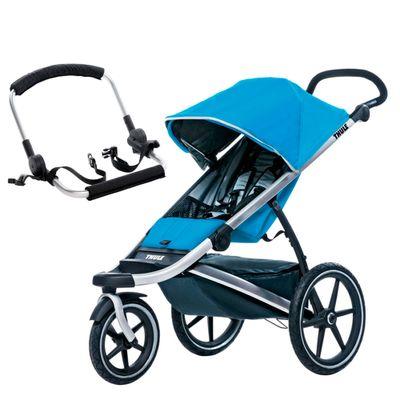 Carrinho-para-Bebe-com-Suporte-para-Bebe-Conforto---Urban-Glide---Blue---Thule