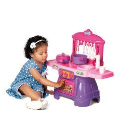 Conjunto-Cozinha-com-Agua---Mini-Chef---Rosa---Calesita
