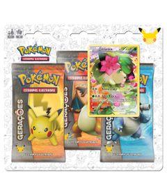 Deck-Pokemon---Blister-com-3-Unidades---Pokemon-Geracoes---Shaymin---Copag