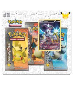 Deck-Pokemon---Blister-com-3-Unidades---Pokemon-Geracoes---Areeus---Copag