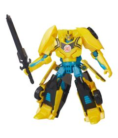 Boneco-Transformers---Robots-In-Disguise-Wariors---BumbleBee-15-cm---Hasbro-Frente