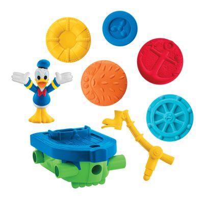 Veiculo-Montavel---Engenhoca-do-Mickey-Mouse---Carro-do-Donald---Fisher-Price-DMC69-frente