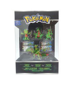 Mini-Figuras-Pokemon---4-unidades---Terceira-Geracao---Mega-Sceptile---Tomy