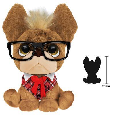 Pelucia-Perfumada---Trend-Dog---G---20-cm---Marrom---Fun