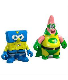 1-Mini-Figuras-Bob-Esponja---Bob-Esponja-e-Patrick-Super-Herois---Fisher-Price
