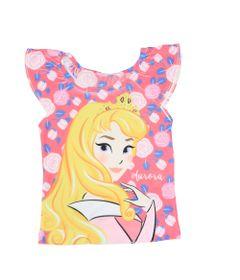 Blusa-Manga-Curta-com-Strass---Branca---Aurora---A-Bela-Adormecida---Princesas---Disney---1