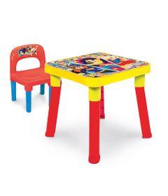Mesa-com-Cadeira---DC-Super-Hero-Girls---Amarelo-e-Vermelho---Monte-Libano