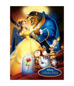 Quebra-Cabeca---100-pecas---Disney---A-Bela-e-a-Fera